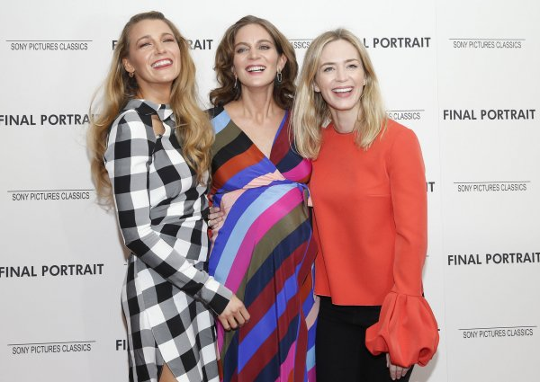 Blake Lively at the 'Final Portrait' New York Screening