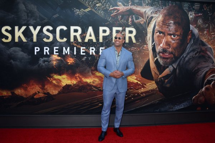 Dwayne Johnson attends 'Skyscraper' premiere in NYC - All