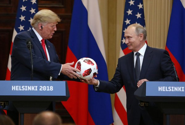 Donald Trump Doubles Down On Helsinki Presser Performance; Critics