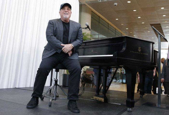 In photos billy joel celebrates 100 lifetime performances - Billy joel madison square garden march 3 ...