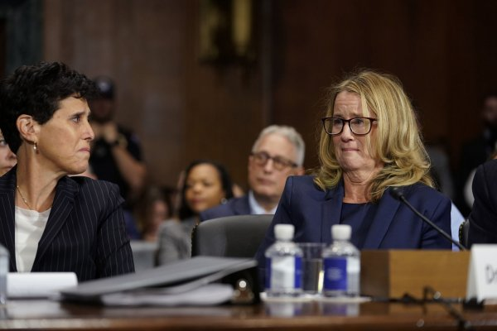 Brett Kavanaugh Christine Blasey Ford Testify In Senate