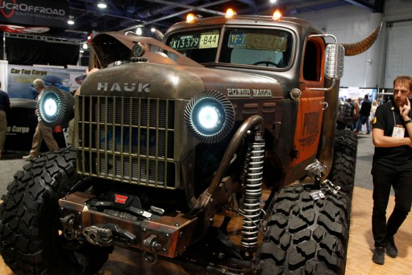 Sema Car Show >> In Photos Moments From The Sema Car Show In Las Vegas All