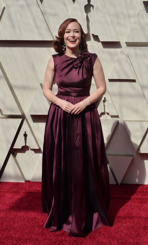 Image result for alicia malone oscar red carpet