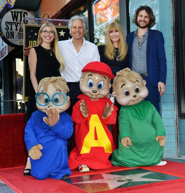 in photos alvin and the chipmunks honored with star on the hollywood walk of fame all photos. Black Bedroom Furniture Sets. Home Design Ideas