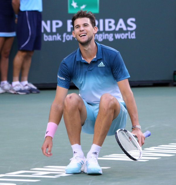in photos dominic thiem bianca andreescu win bnp paribas tennis open all photos. Black Bedroom Furniture Sets. Home Design Ideas