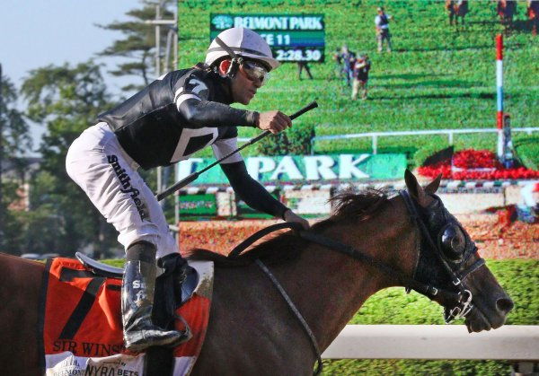 Sir Winston wins 151st running of Belmont Stakes - All