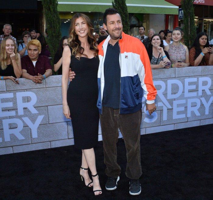 In photos: Jennifer Aniston, Adam Sandler attend 'Murder