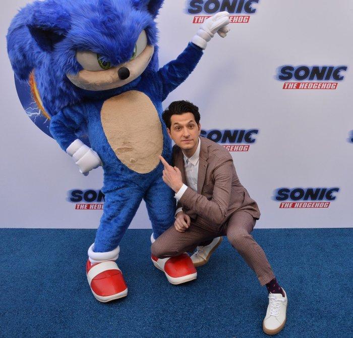 In Photos Jim Carrey James Marsden Attend Sonic The Hedgehog Family Event All Photos Upi Com