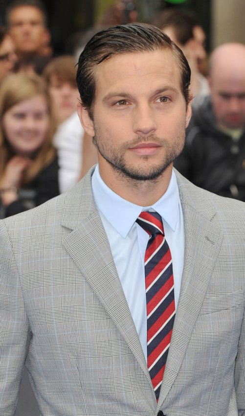 """Logan Marshall-Green attends the UK Premiere of """"Prometheus"""" in London."""