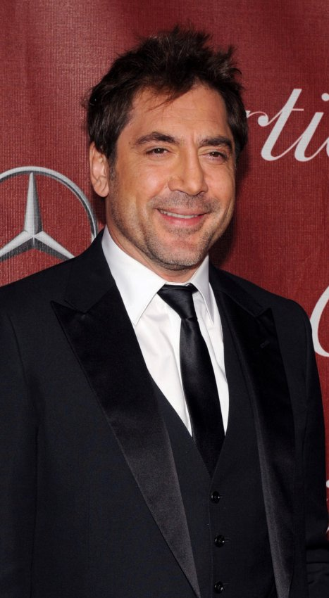 Javier Bardem arrives at the Palm Springs International Film Festval in Palm Springs, California