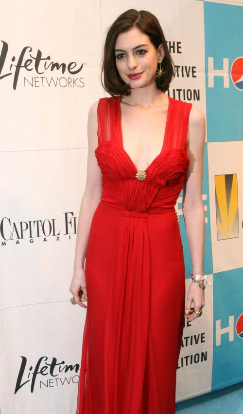 red carpet arrivals at the Creative Coalition Inaugural Ball