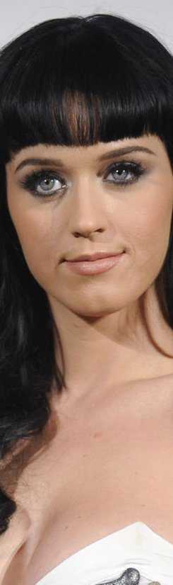 Katy Perry poses backstage at the GRAMMY Nomination Concert Live in Los Angeles