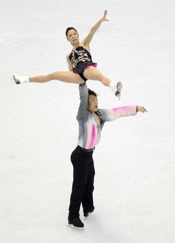 Figure Skating Pairs-Short Program