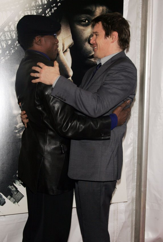 """Wesley Snipes and Ethan Hawke arrive at """"Brooklyn's Finest"""" Premiere in New York"""