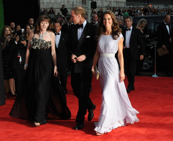 The Duke and Duchess of Cambridge arrive for the BAFTA Brits to Watch dinner in Los Angeles