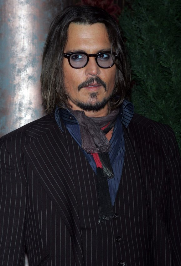 "Johnny Depp arrives for ""The Tourist"" Premiere in New York"