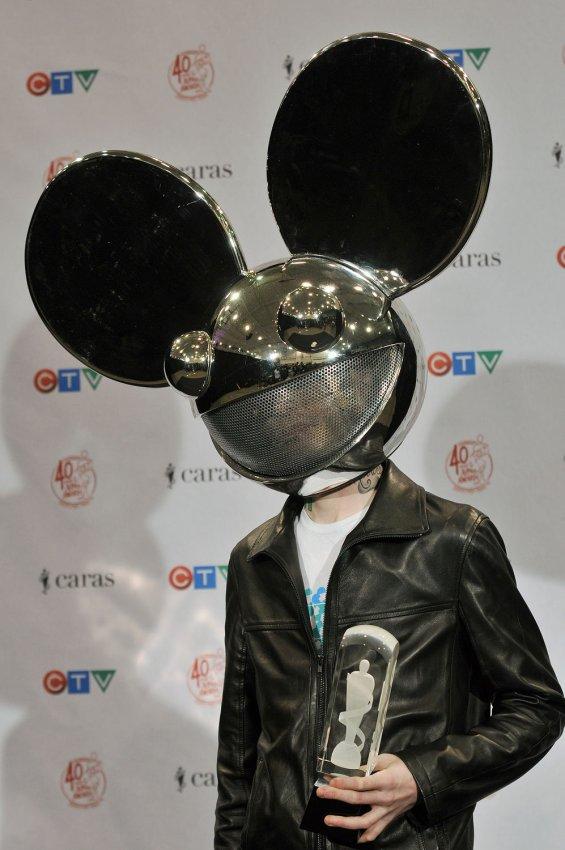 Deadmau5 attends the 2011 Juno Awards in Toronto, Canada