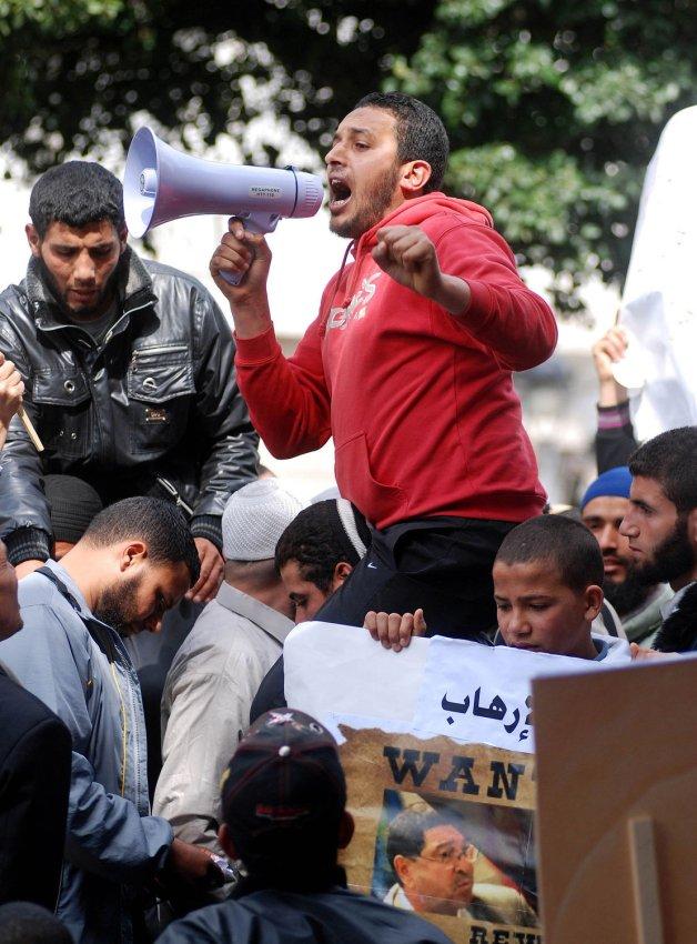 Tunisian protesters demand headscarves - UPI.com