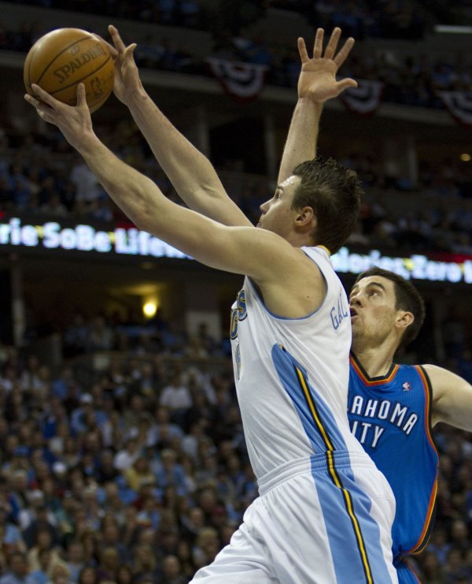 NBA Playoffs: Thunder At Nuggets, Game 3