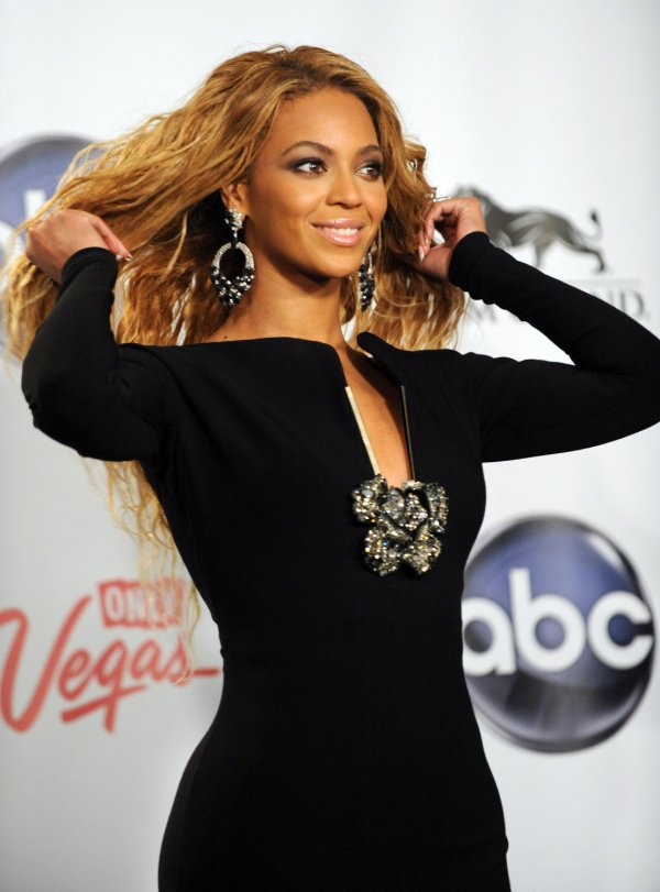 Singer Beyonce wins the Billboard Millennium Award at the 2011 Billlboard Music Awards in Las Vegas