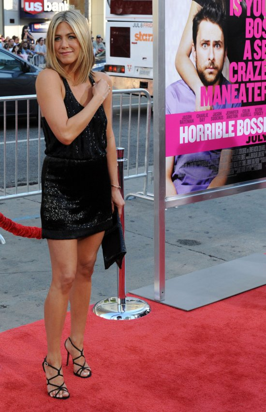 "Jennifer Aniston attends the premiere of ""Horrible Bosses"" in Los Angeles"