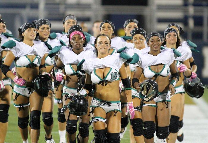 The best of the lingerie football league - All Photos