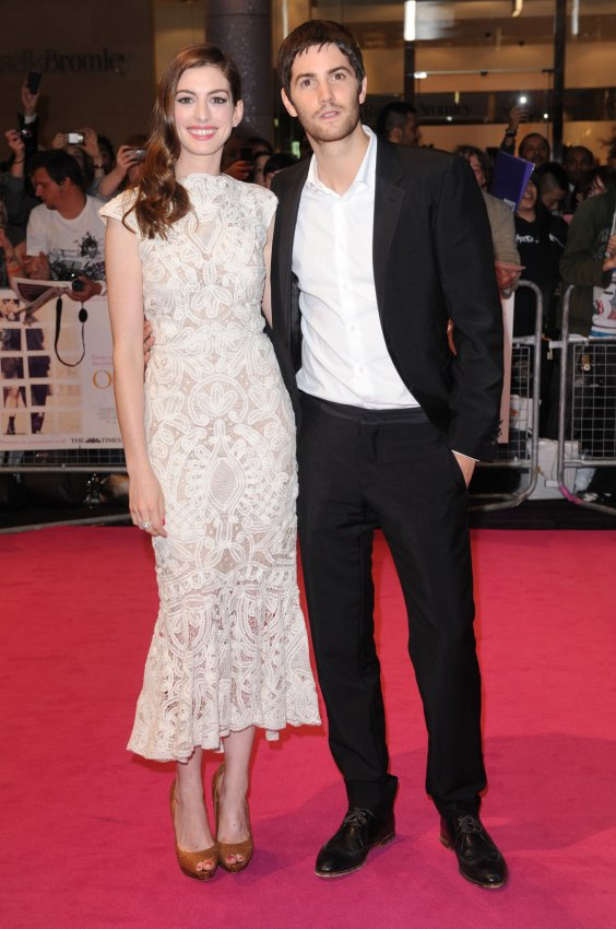 "Anne Hathaway and Jim Sturgess attend ""One Day"" premiere in London"