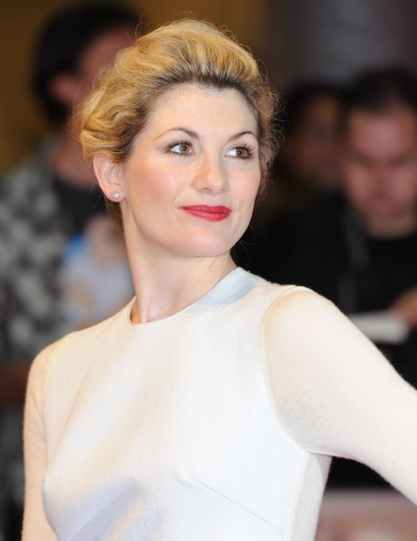 "Jodie Whittaker attends ""One Day"" premiere in London"
