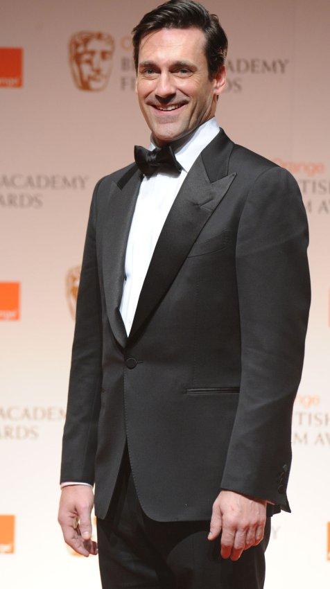 "Jon Hamm attends the ""BAFTA"" ceremony in London"