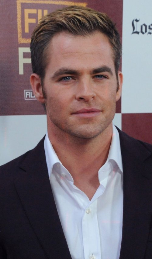 "Chris Pine attends the ""People Like Us"" premiere in Los Angeles"