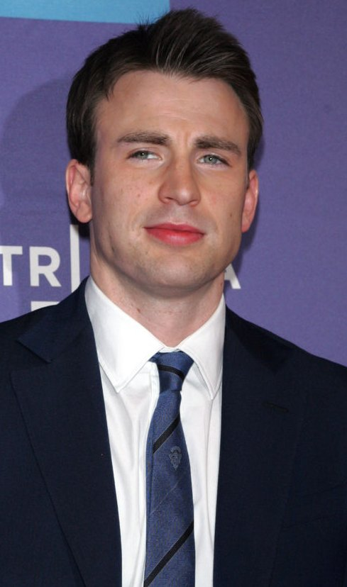 "Chris Evans arrives for the Tribeca Film Festival Premiere of ""Puncture"" in New York"