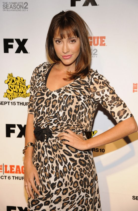 "Fernanda Romero attends Premiere Screening of FX's ""It's Always Sunny in Philadelphia"" season seven and ""The League"" in Los Angeles"