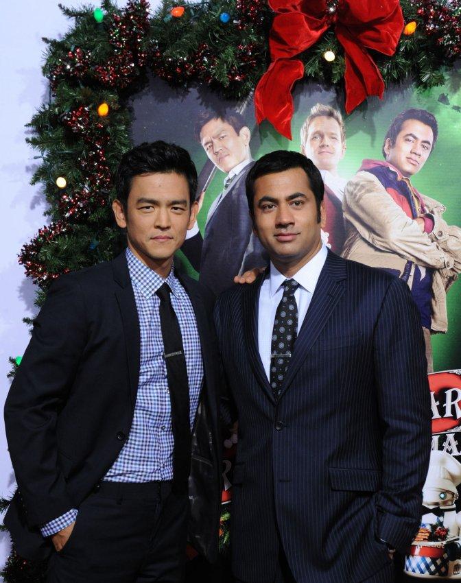 Harold And Kumar Christmas.A Very Harold Kumar 3d Christmas Premiere All Photos
