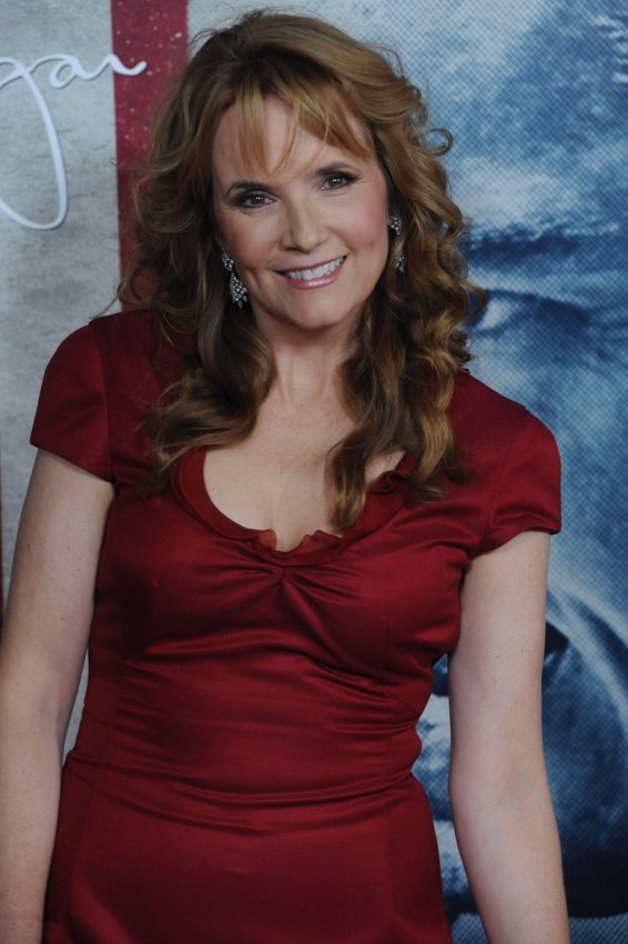 "Lea Thompson attends the premiere ""J. Edgar"" in Los Angeles"