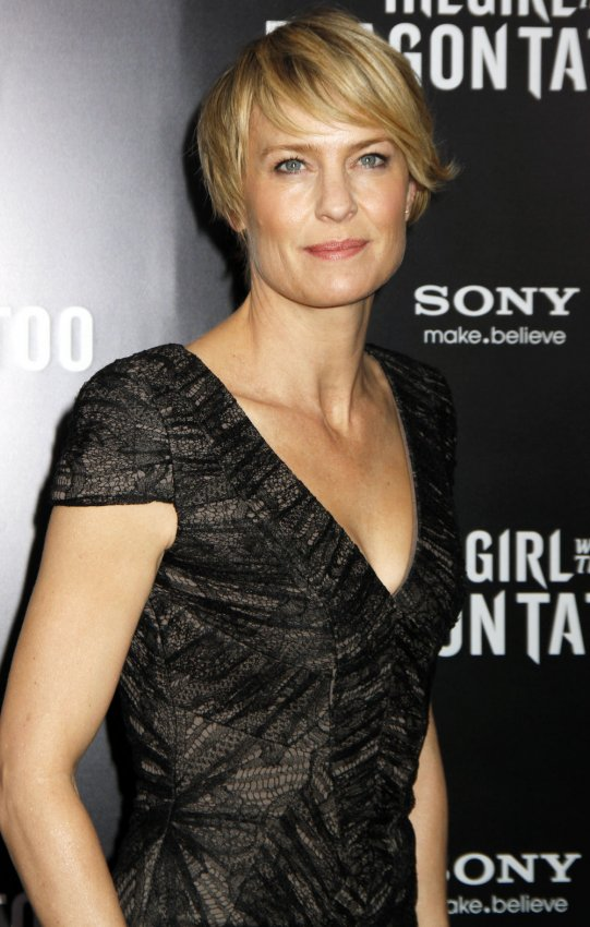 "Robin Wright Girl With Dragon Tattoo ""The Girl ..."