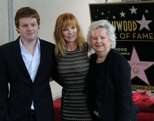 Marg Helgenberger receives a star on the Walk of Fame ...