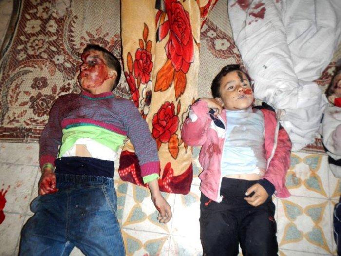 Massacre in Homs, Syria - All Photos