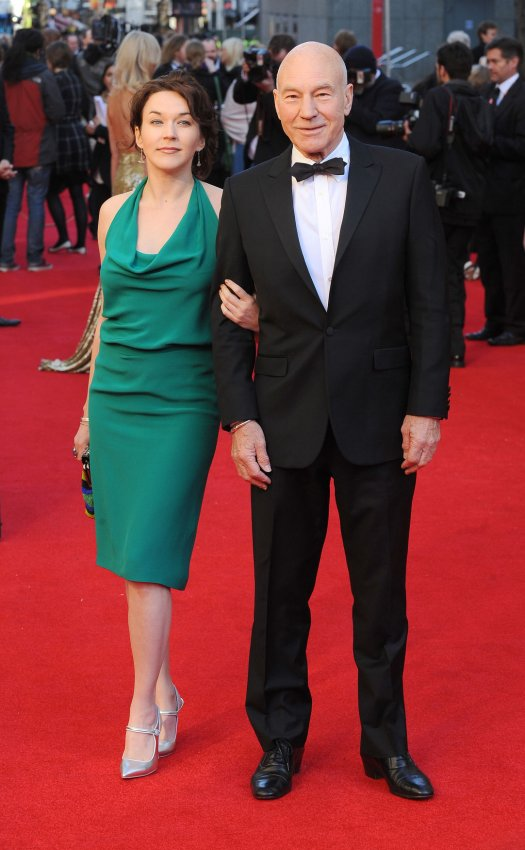 "Patrick Stewart attends ""The Olivier Awards 2012"" in London"