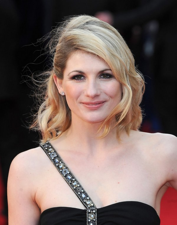 "Jodie Whittaker attends ""The Olivier Awards 2012"" in London"