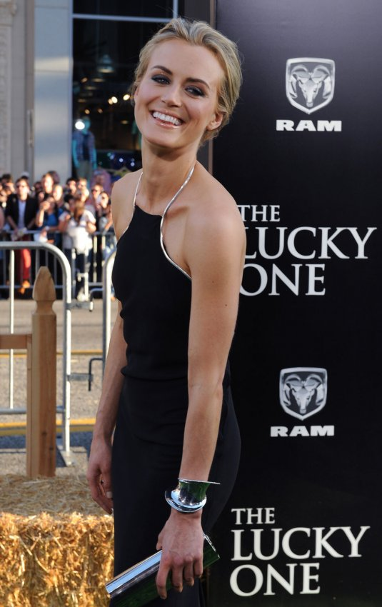 "Taylor Schilling attends ""The Lucky One"" premiere in Los Angeles"