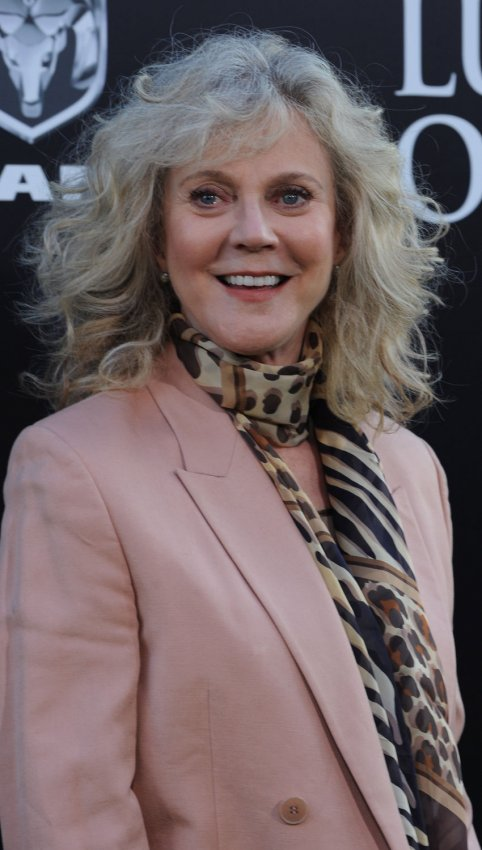 "Blythe Danner attends ""The Lucky One"" premiere in Los Angeles"