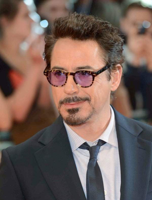 "Robert Downey Jr attends The European Premiere of ""Marvel Avengers Assemble"" in London"