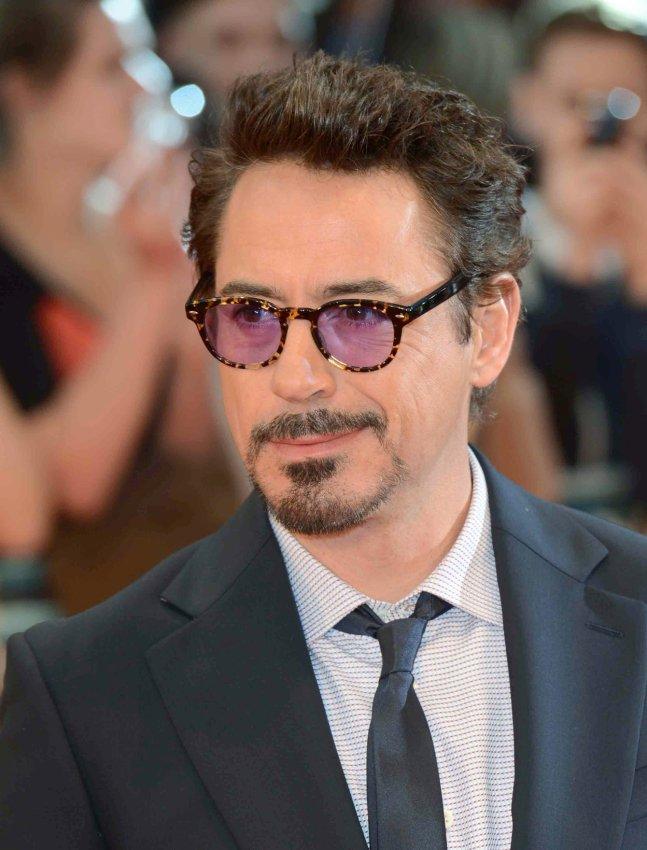 "Robert Downey Jr attends The European Premiere of ""Marvel Avengers Assemble"" in London"