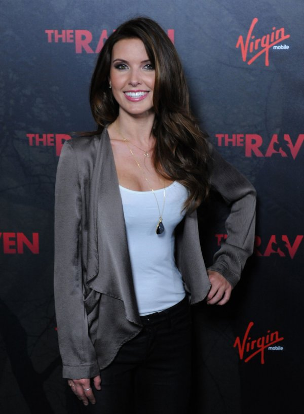 "Audrina Patridge attends ""The Raven"" premiere in Los Angeles"