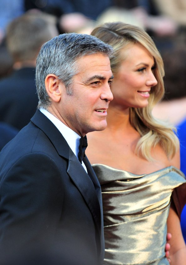George Clooney/Stacy Keibler/Defense Secretary Leon Panetta (Time)