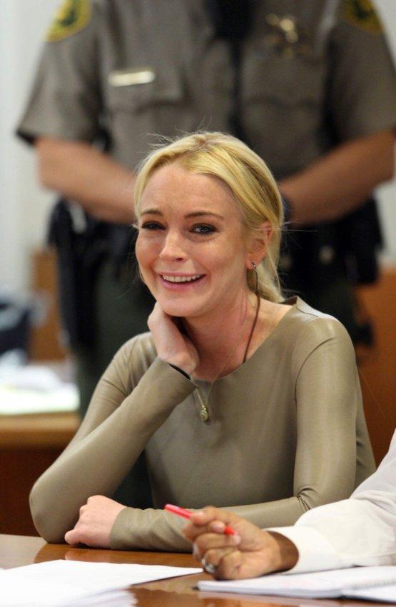 Lindsay Lohan/Greta Van Susteren (Fox News)