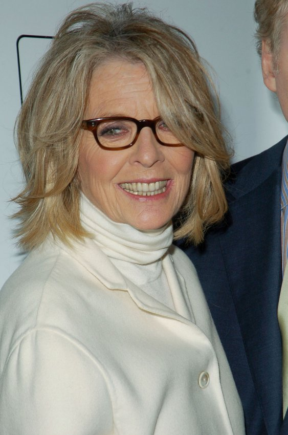Actress Diane Keaton/White House Chef Sam Kass (People)