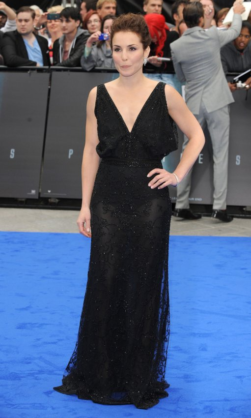 "Noomi Rapace attends the UK Premiere of ""Prometheus"" in London."