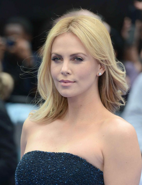 "Charlize Theron attends the UK Premiere of ""Prometheus"" in London."