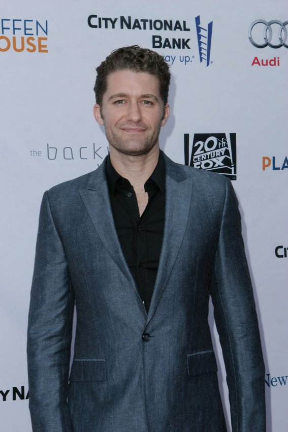 Matthew Morrison attends Backstage at the Geffen fundraiser in Los Angeles